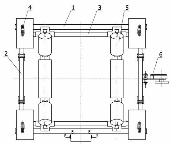 4 тензометрических датчика